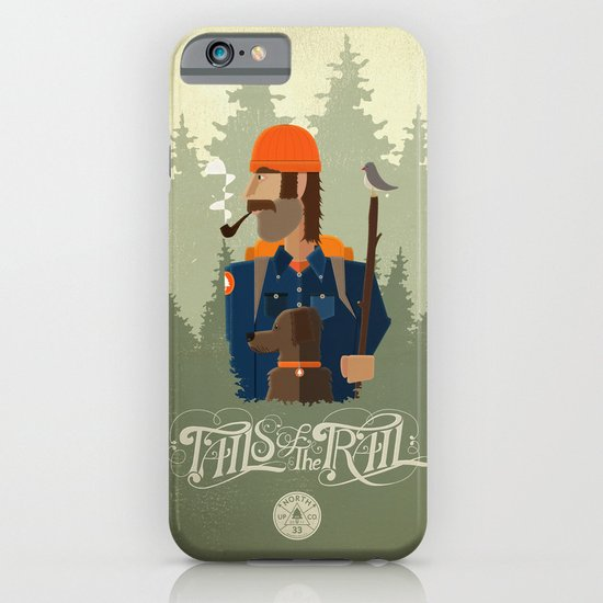 Tails of the Trail iPhone & iPod Case