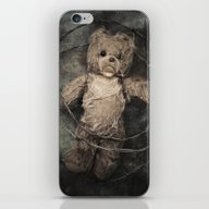 Trapped Teddy Bear iPhone & iPod Skin