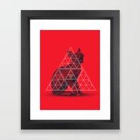 Sacred Sphynx Framed Art Print