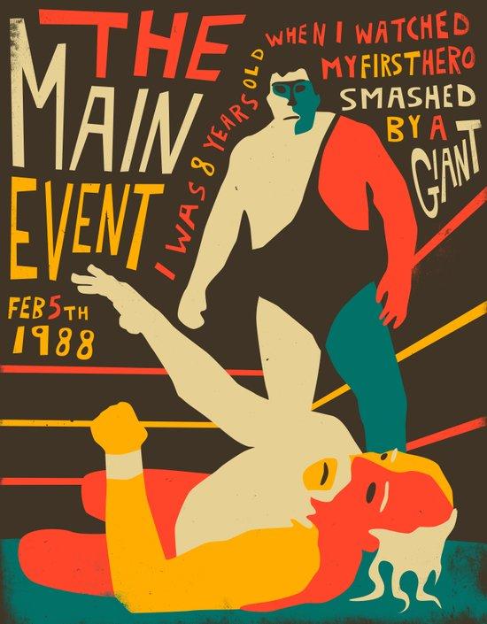 The Main Event Art Print