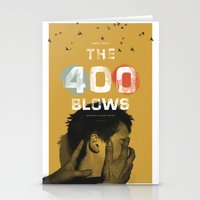 The 400 Blows Movie Post… Stationery Cards