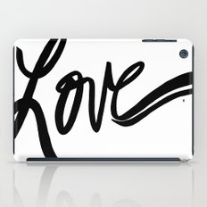 made with love iPad Case