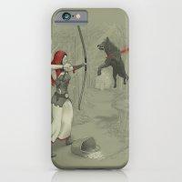 Little Red Robin Hood iPhone 6 Slim Case