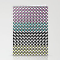 Plastic Weave Stationery Cards