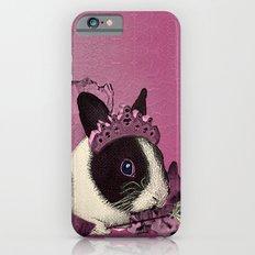 Pink Bunny Princess Print iPhone 6 Slim Case