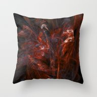 Throw Pillow featuring Fiery Dance by George Michael