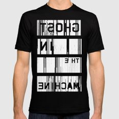 Ghost in the Machine (Inverted) SMALL Black Mens Fitted Tee
