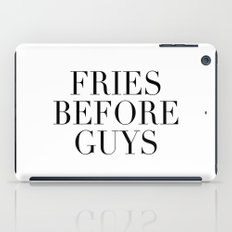 Fries before guys iPad Case