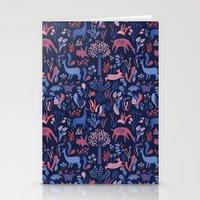 Padú (Blue) Stationery Cards