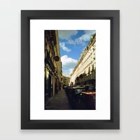 Paris In 35mm Film: Rue … Framed Art Print