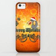Christmas Crow iPhone 5c Slim Case