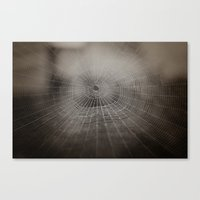 Oh What A Tangled Web We… Canvas Print