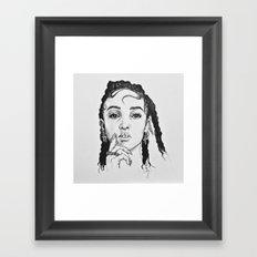 I'm Your Doll Framed Art Print