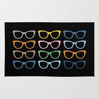 Sunglasses At Night Rug