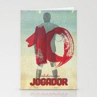 Color Soccer Stationery Cards