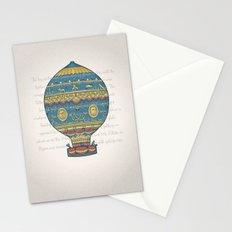Flight of the Balloon Stationery Cards