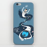 Across the dark hole iPhone & iPod Skin