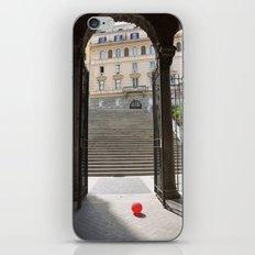 Red Ballon iPhone & iPod Skin