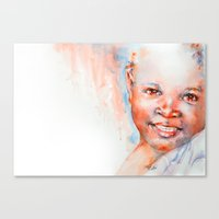 Africa In My Soul Canvas Print