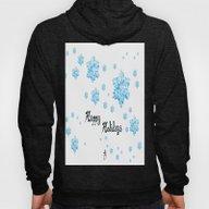 Snow Falling At Christma… Hoody