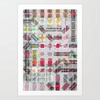 New Plaid Art Print