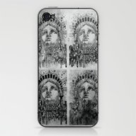 New York City Black And … iPhone & iPod Skin