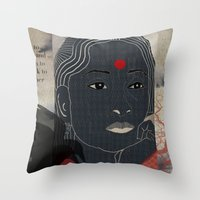 134.b Throw Pillow