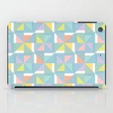 pinwheels - blue iPad Case