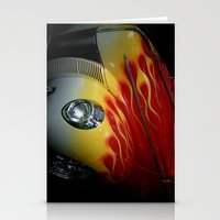 Flaming Beauty Stationery Cards