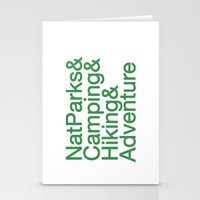National Parks & Hiking & Camping & Adventure Stationery Cards