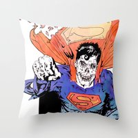 ZUPERMAN Throw Pillow