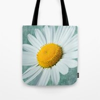 Daisy Head Tote Bag