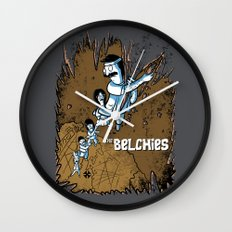 The Belchies Wall Clock