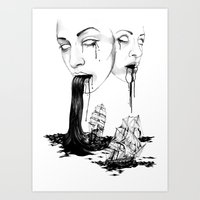 They : Water Art Print