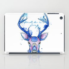 Always. Harry Potter patronus. iPad Case