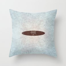 old photo camera Throw Pillow
