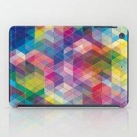 Cuben Curved #7 iPad Case