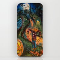 At the stroke of Halloween iPhone & iPod Skin