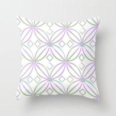 Floral Pattern - JUSTART © Throw Pillow