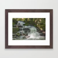 Lumsdale In Summer Framed Art Print