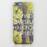 Socrates + The Wildernes… iPhone 6 Slim Case