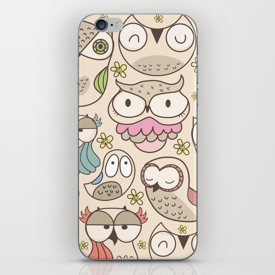 The owling iPhone & iPod Skin
