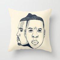 The Throne Throw Pillow