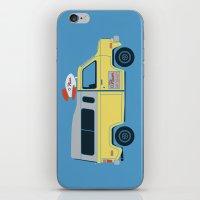 Galactic Pizza Van iPhone & iPod Skin