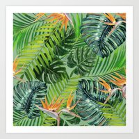 Jungle Tangle Paradise  Art Print