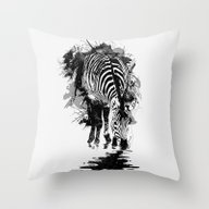 Stripe Charging Throw Pillow