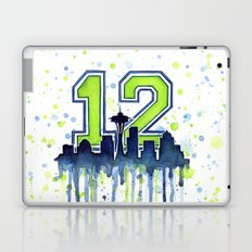 Hawks 12th Man Fan Art Laptop & iPad Skin