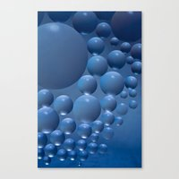 Blue Moon. Canvas Print
