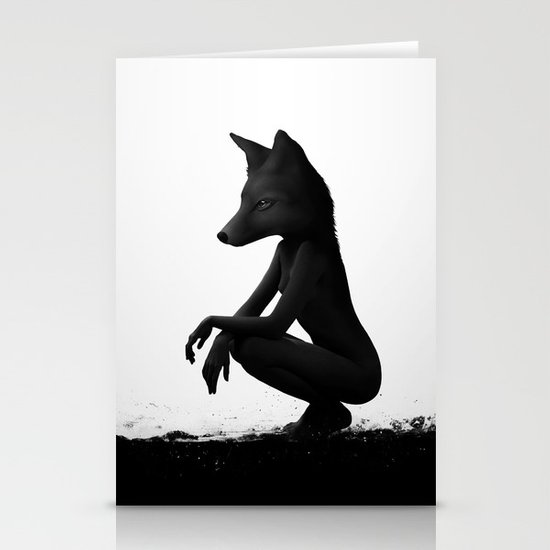 The Silent Wild Stationery Card