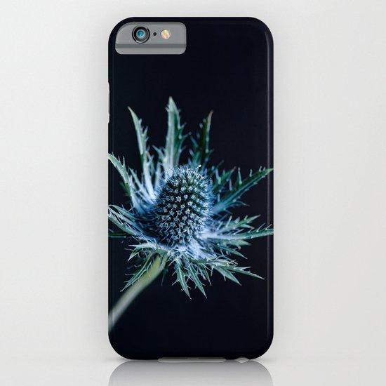 Blue Thistle iPhone & iPod Case